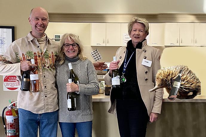 CPC Wine Winners Ben, Myriam, Irene & Rex