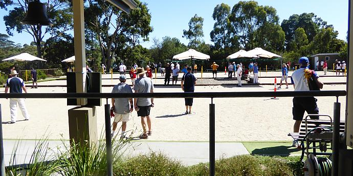 Competitions are the lifeblood of petanque