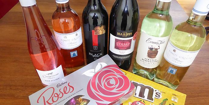 Weekly prizes of wines or chocolates give everyone an incentive