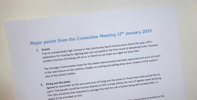 Members shouldn't be in the dark about the Committee's activities